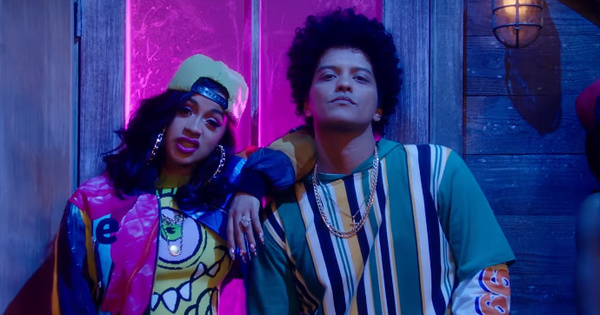 "Cardi B & Bruno Mars Go Back in Time to ""Finesse"": Listen"