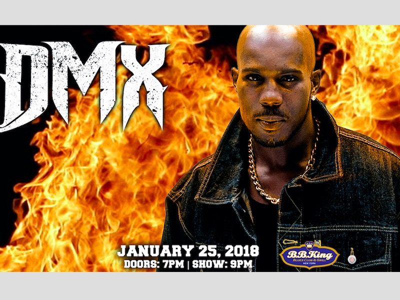 """DMX's B.B. King Blues Club & Grill NY Concert: """"The Def Jam Icon Embodies The Voice Of The Street"""" –"""