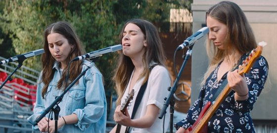 """HAIM Team with Paul Thomas Anderson for """"Night So Long"""" Video"""