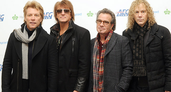 Howard Stern inducting Bon Jovi into Rock Hall of Fame |