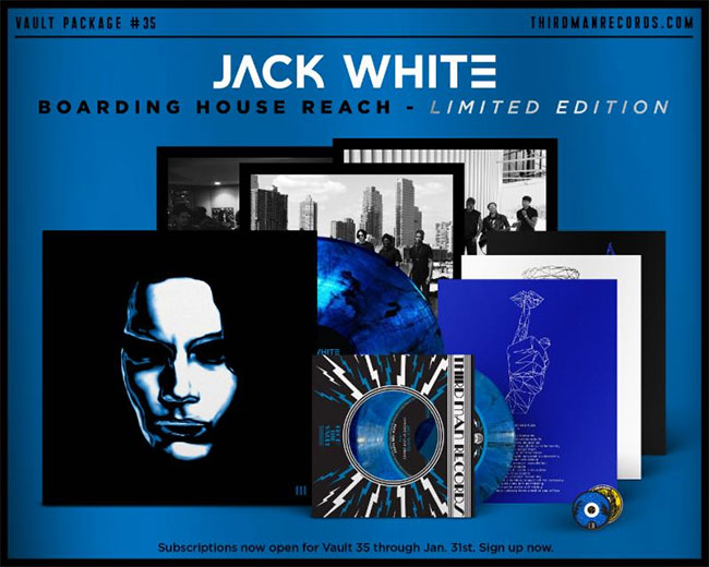 Jack White shares 'Boarding House Reach' album details |