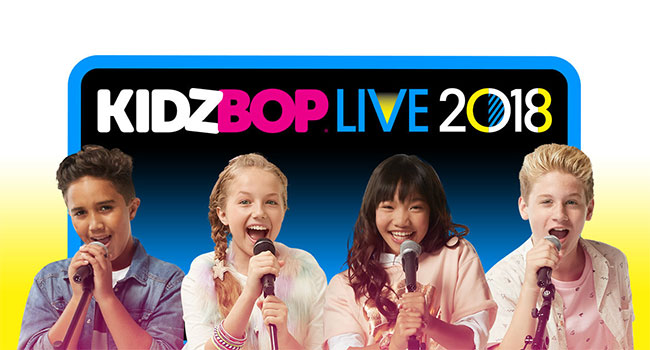 KIDZ BOP Live 2018 North American Tour detailed |