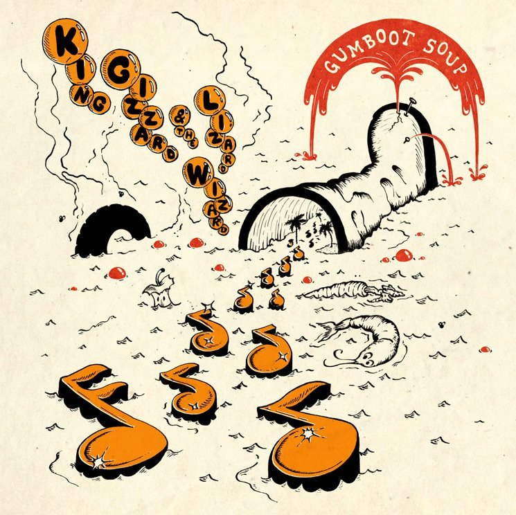 King Gizzard & the Lizard Wizard Release Their 5th Album of 2017 'Gumboot Soup'
