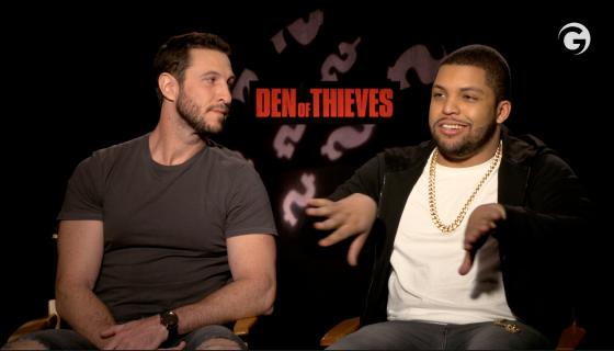 O'Shea Jackson Jr and Pablo Schreiber Talk Den Of Thieves Secrets