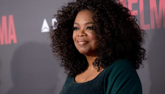 Oprah Rocks Purple And Pink Hair In 'O Magazine'