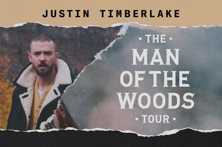 """Justin Timberlake Announces """"The Man of the Woods Tour"""""""