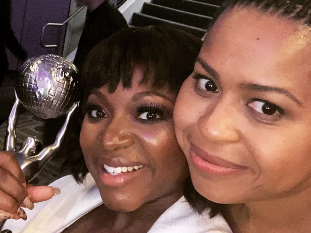 """""""Power"""" Star Naturi Naughton Gets Respeck Put On Her Name & 50 Cent Loves It: """"These Are My Girls"""" –"""