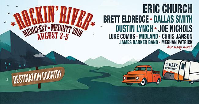 Canada's Rockin' River Music Fest lineup set |