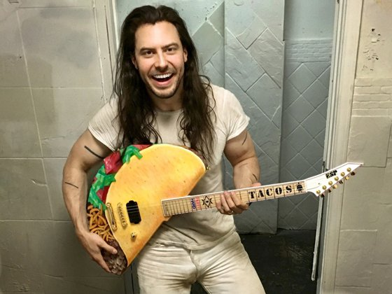"""Andrew W.K. Named """"Person of the Year"""" by Suicide Prevention Group"""