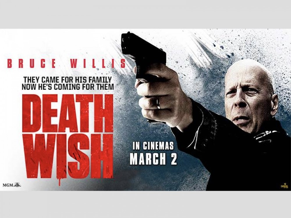 """Bruce Willis' Death Wish: """"Vigilante Justice Served By The Average Guy"""" –"""