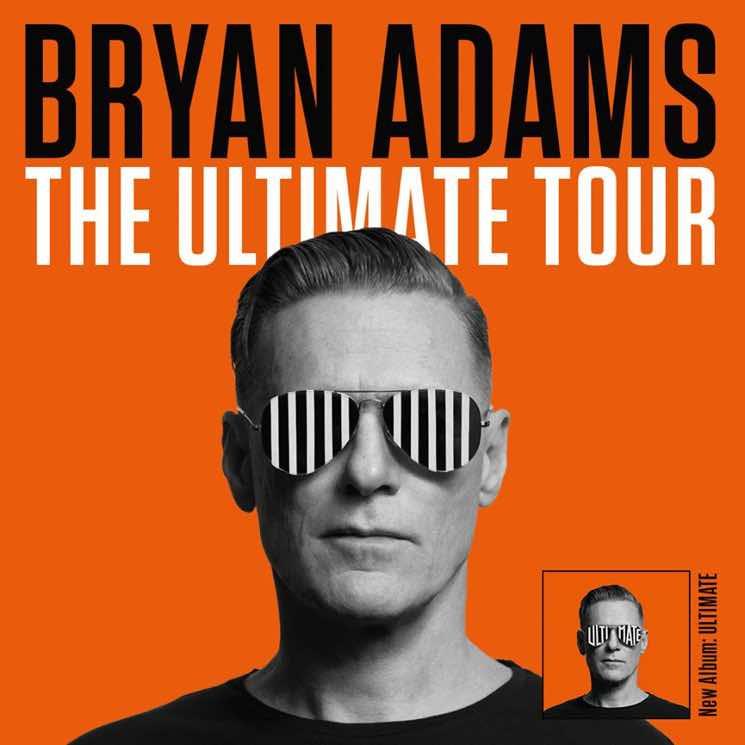 """Bryan Adams Brings """"The Ultimate Tour"""" Across Canada"""