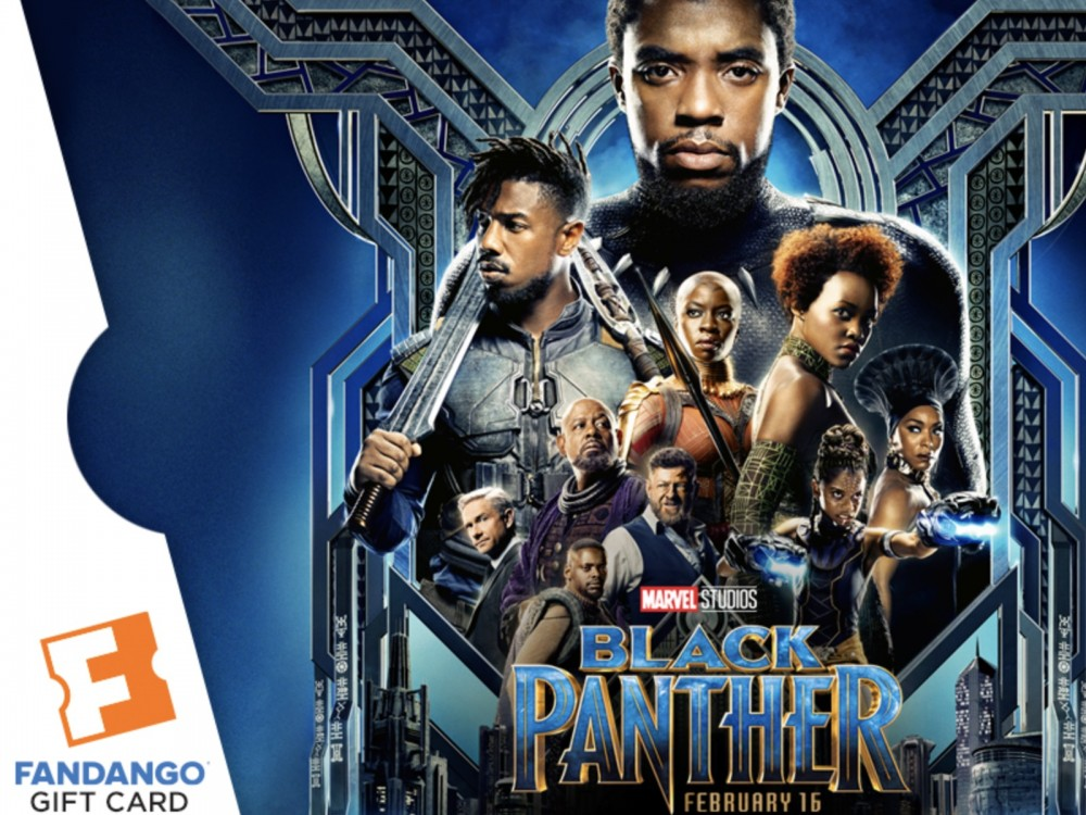 """Fandango's Black Panther Movie Passes: """"Just Buying Your Tix Here Will Land You A Free Black Panther Poster!"""" –"""