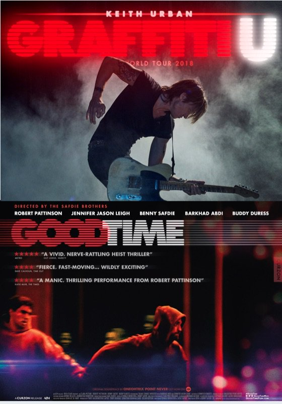 Keith Urban Ripped Off the 'Good Time' Poster for His Upcoming World Tour