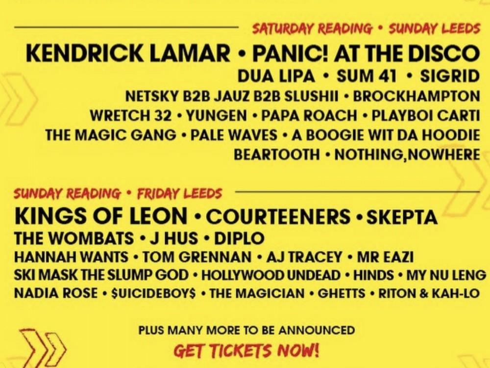 Kendrick Lamar, Lil Pump, Post Malone & More Make UK Rock Festival Go Hip-Hop AF –