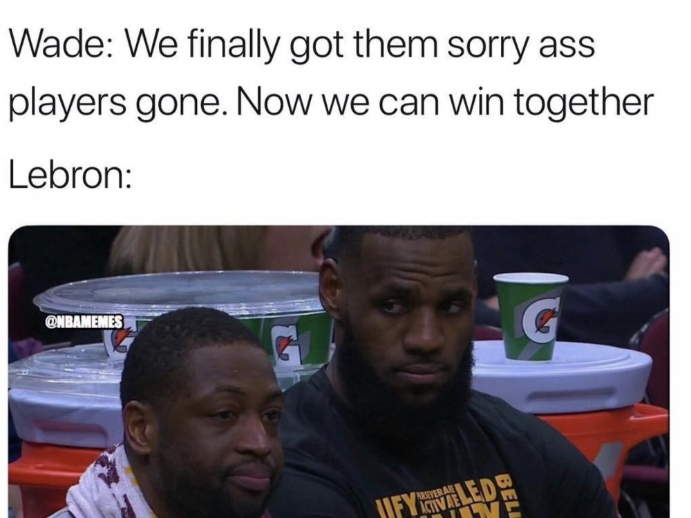 LeBron James Trolling Far From Over, Savage AF Post-Cavs Trade Memes Keep Coming –