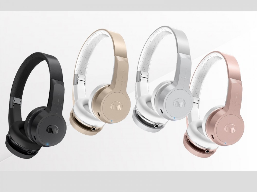 """Monster's New Clarity BT Designer Series Wireless Headphones: """"24 Hours Before You Need to Charge Back Up"""" –"""
