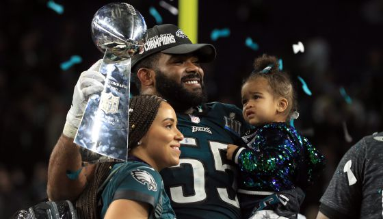 No. 1: Every Time Brandon Graham Was A Champion At Home Too