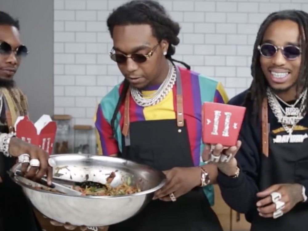 "Peep Migos Sizzle Tasty Food Porn Moments In New ""Whip Up Stir Fry"" Video –"