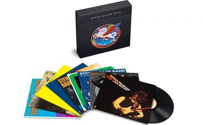 Steve Miller Band announces 180-g vinyl box set |