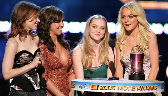 Watch: Lindsay Lohan Relives Her 2004 Classic, 'Mean Girls'