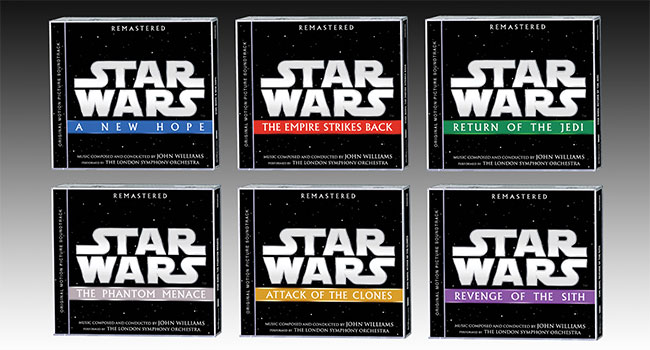 First six 'Star Wars' soundtracks getting remastered |