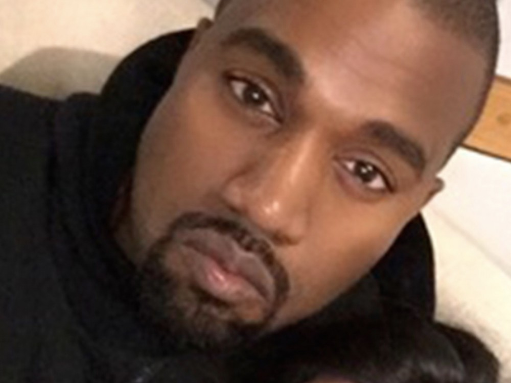 Kanye West Pulls A Kim Kardashian, Fades To Black – Er- Pink –