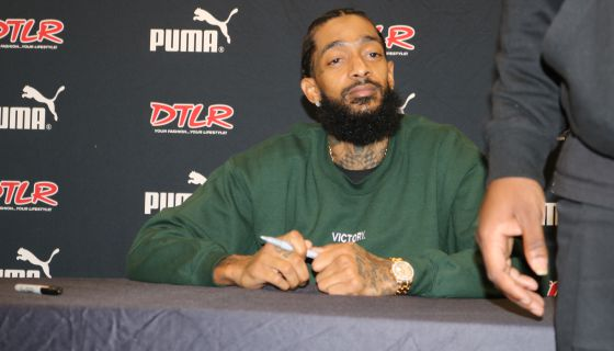 "Nipsey Hussle And YG Perform ""Last Time That I Checc'd"" At LA Clippers Game"