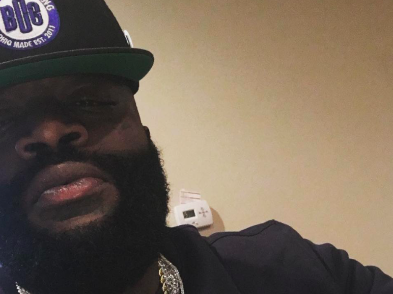 Rick Ross 100% Back On His Grind After Hospitalization, Spotted In South Beach –