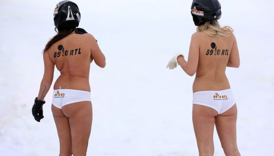 Thoughts? Model Says Jogging Naked In The Snow Will Keep You Looking Young
