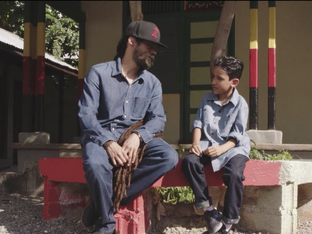 "Watch Damian Marley Tell Untold Bob Marley Stories To His Son In New ""Living It Up"" TIDAL Video Premiere –"