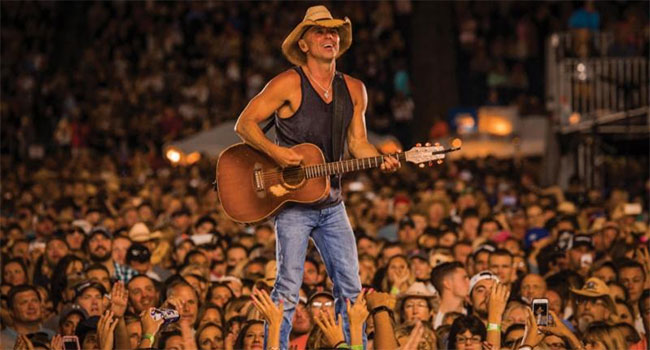 Kenny Chesney's 'Get Along' tops two million streams |