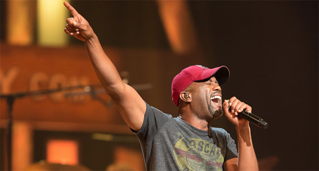 Ninth Annual Darius Rucker and Friends benefit concert announced |