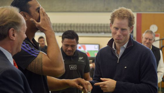 Prince Harry Will Always Answer The Call To Catch Some Twerk