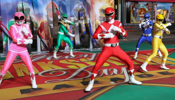 The Power Rangers And Ninja Turtles Meet Their Match In This Swaggy New Viral Video