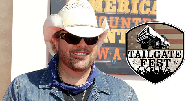 Toby Keith headlining Tailgate Fest in Los Angeles  
