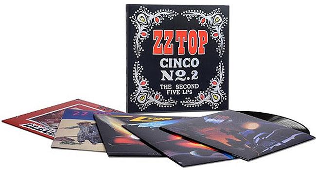 ZZ Top announces 'Cinco No. 2: The Second Five LPs' |