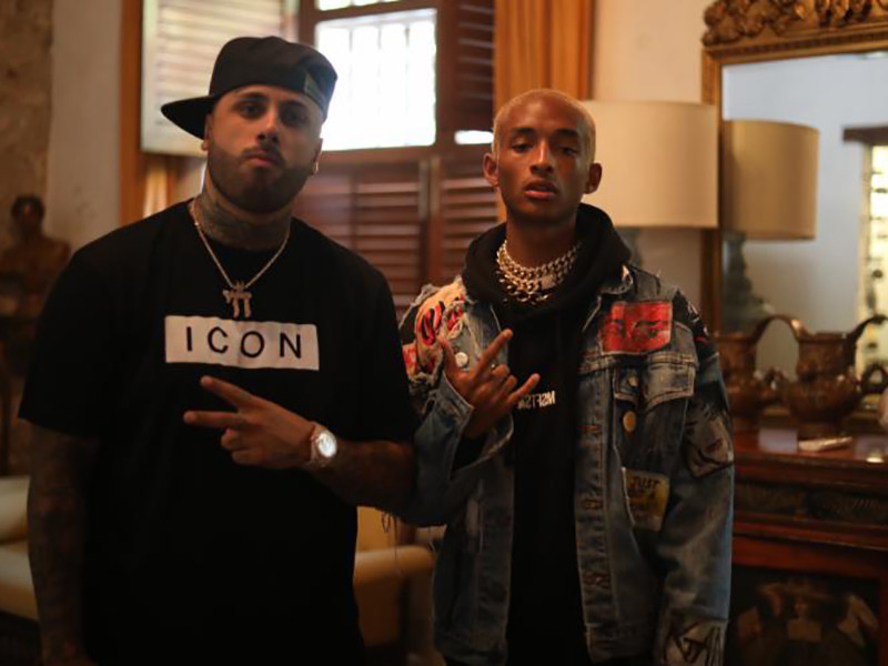 "Jaden Smith Teams Up With Nicky Jam For ""ICON"" Remix"