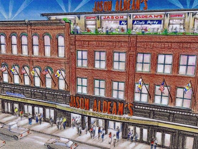 Jason Aldean plots Kitchen + Rooftop Bar Nashville opening ...