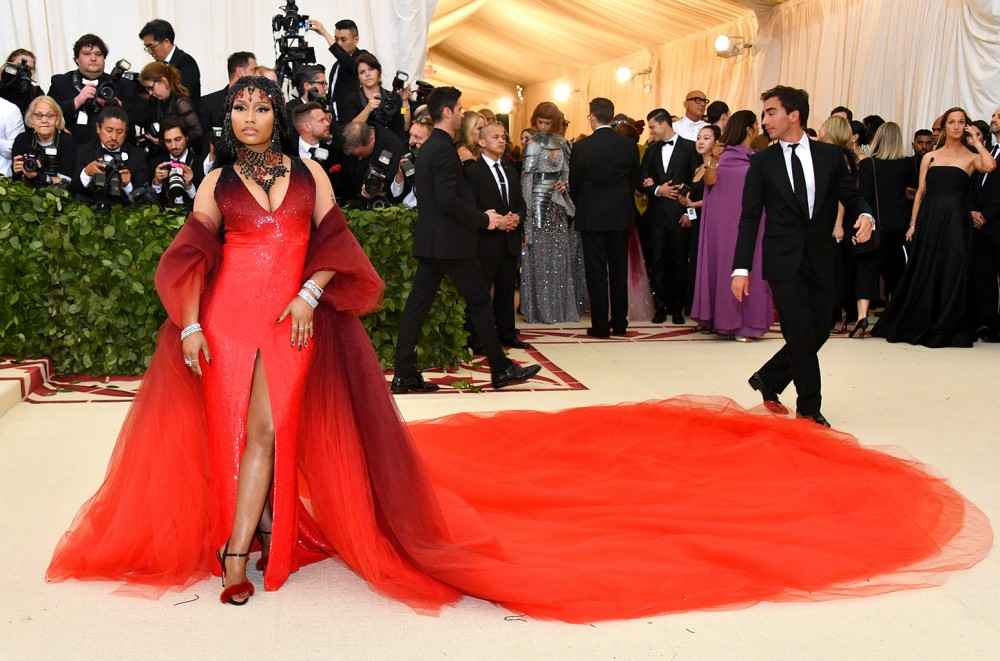 Nicki Minaj Announces New Album 'Queen' at Met Gala