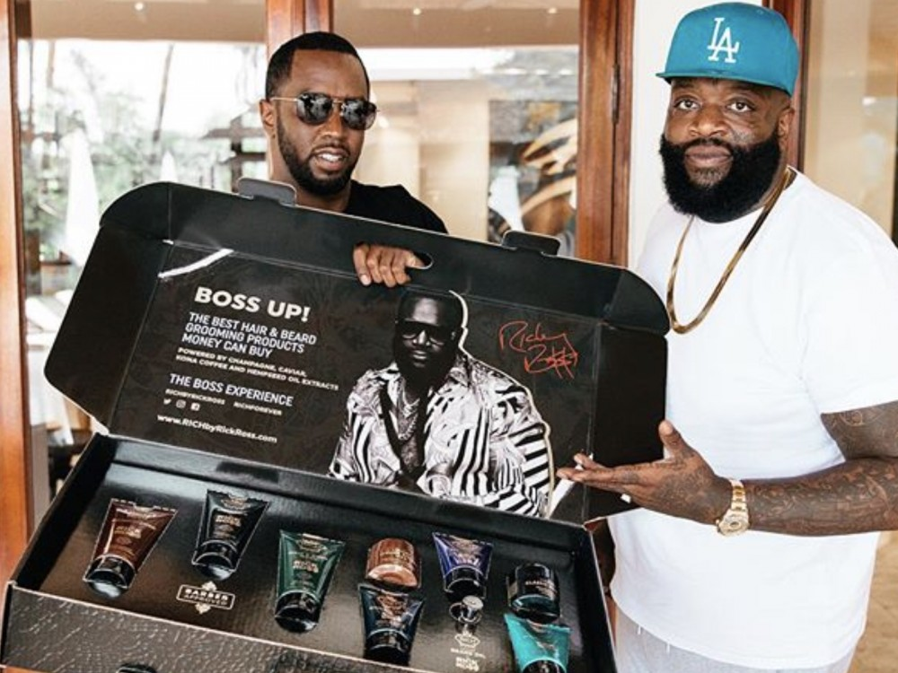 Rick Ross Shows Even Diddy Is Letting His Hair Glow Like A Bawwwwwwse –