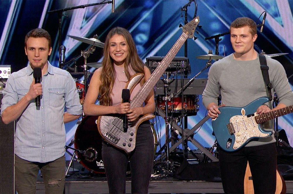 Sibling Trio We Three Give Tear-Jerking Tribute to Late Mother on 'America's Got Talent': Exclusive Video