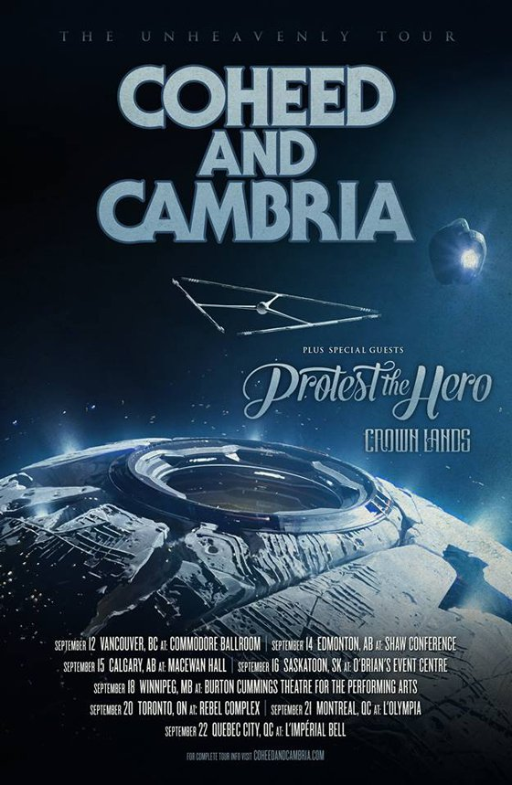 Coheed and Cambria Get Protest the Hero for Canadian Tour