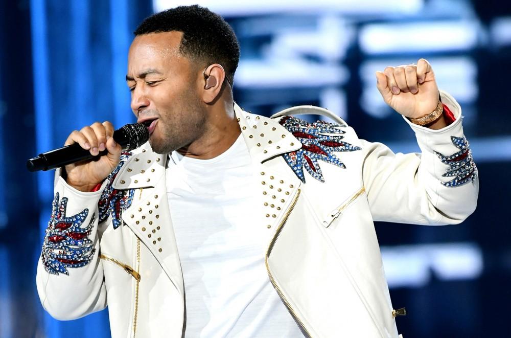 John Legend Scores at L.A. Dodgers Foundation Fundraiser