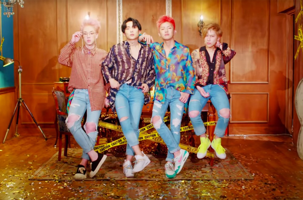 K-Pop Boy Band A.C.E Shifts Directions With 'Take Me Higher'  Watch