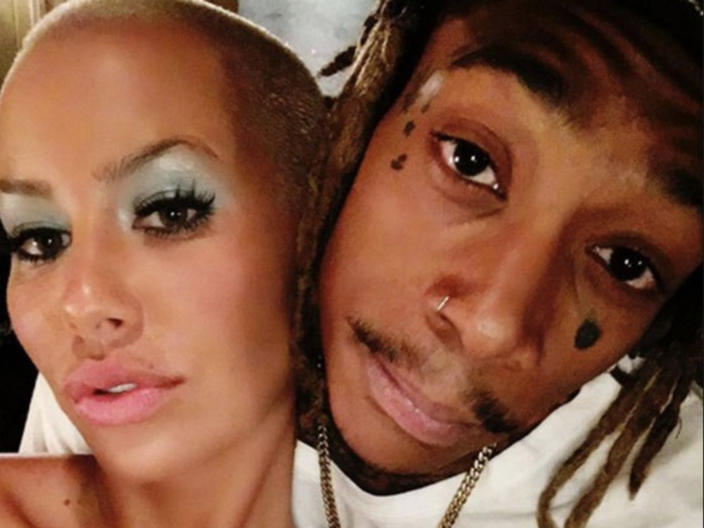 Amber Rose Rallies Behind Wiz Khalifa W/ Some Unexpected Support –