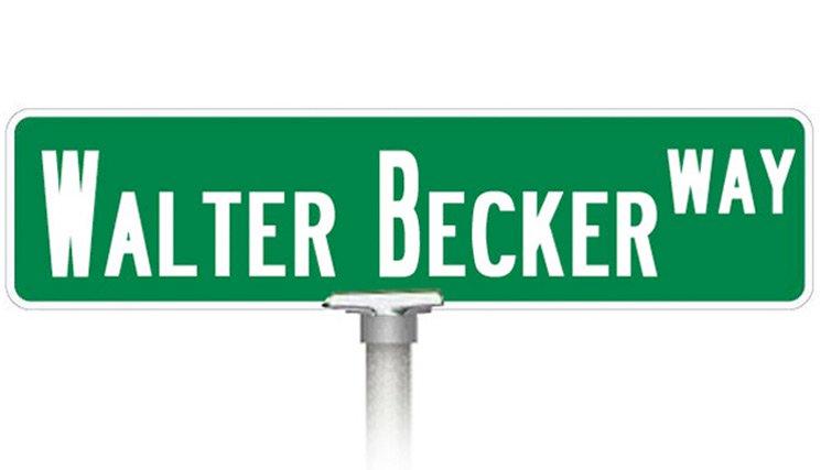 Steely Dan's Walter Becker Gets Street Named in His Honour
