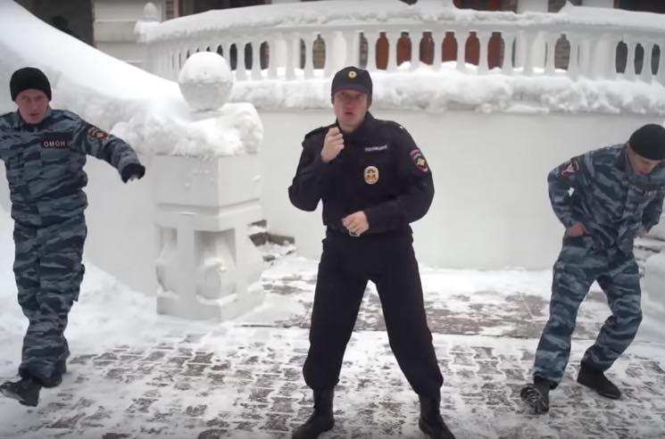 """Pussy Riot Follow Up World Cup Protest with """"Track About Good Cop"""""""