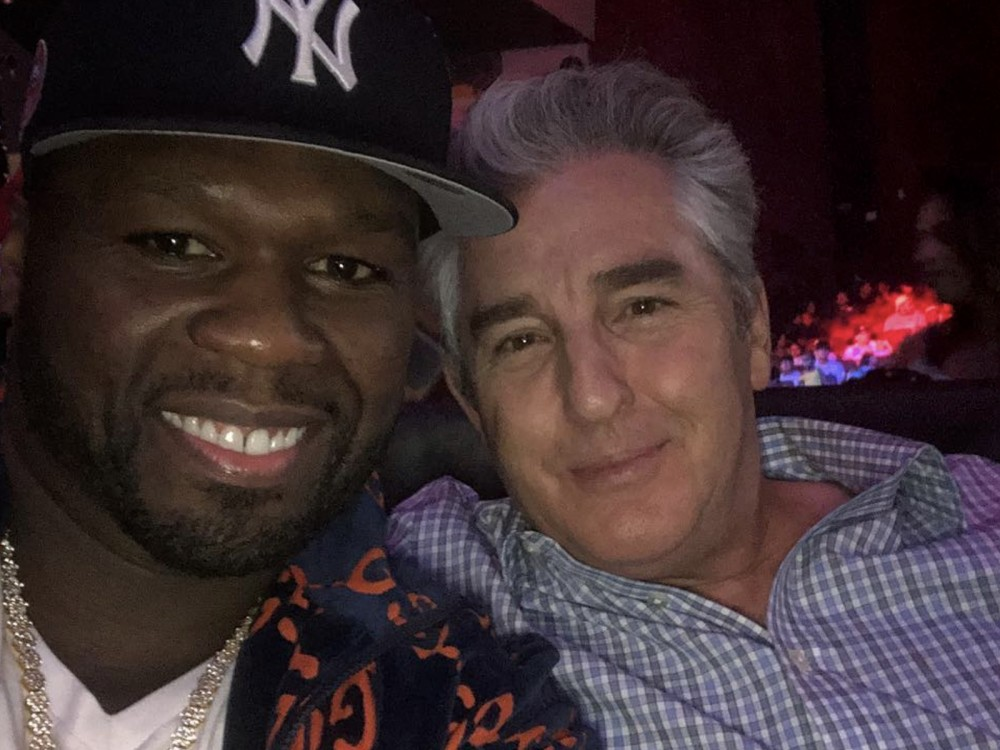 50 Cent Celebrates Boxing Comeback W/ Industry Heavyweight –