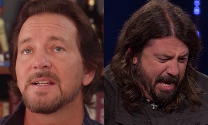 Eddie Vedder Reacts To Foo Fighters Show Tragedy