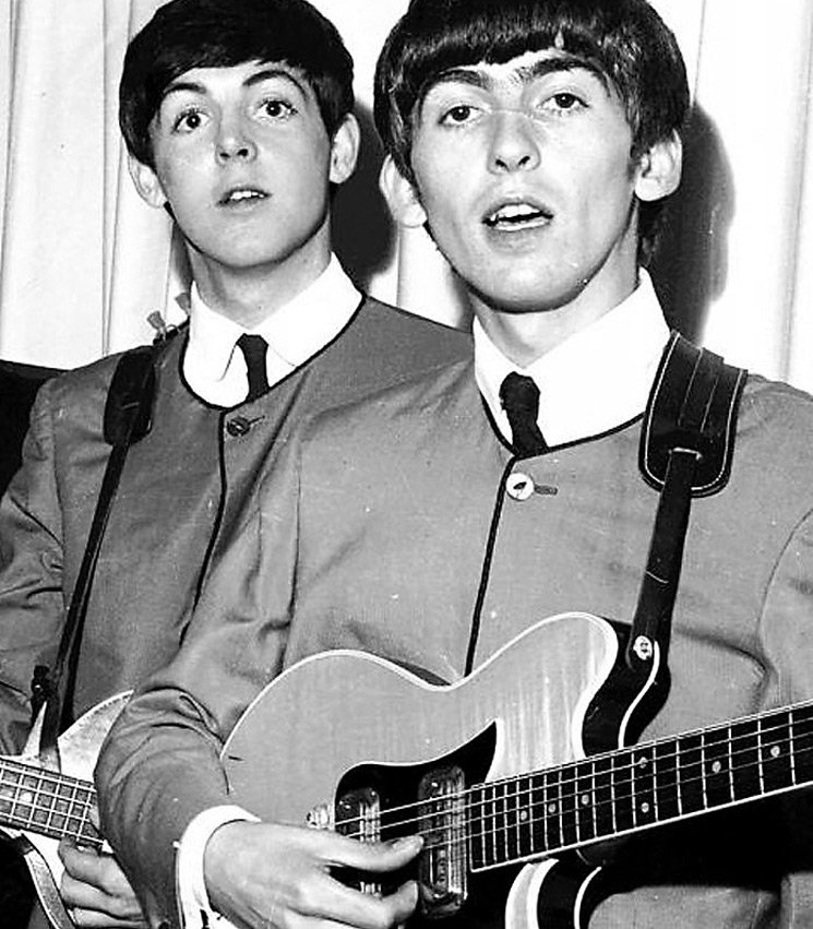George Harrison's Cavern Club Guitar Heads to Auction